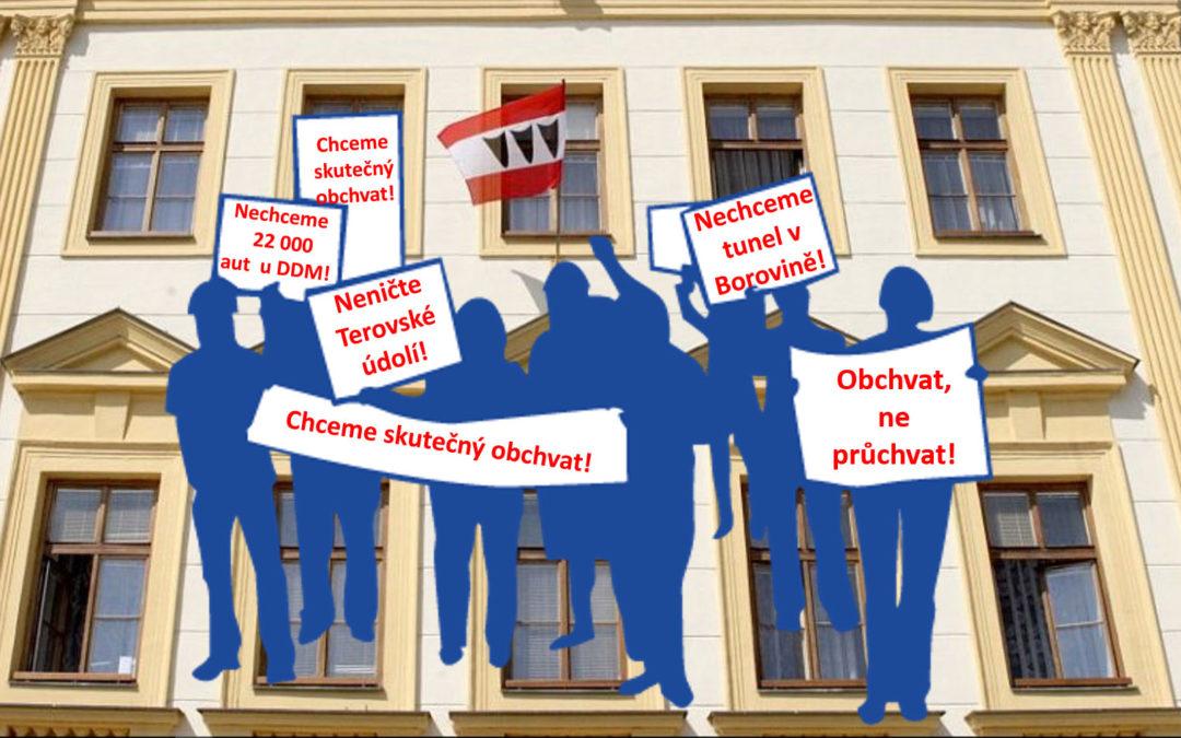 Obchvat Třebíče – občané prosadili svůj názor i přes odpor radnice