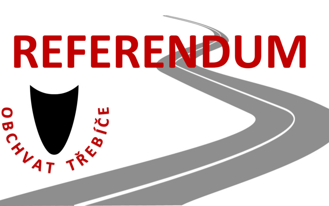 Podpisová listina k návrhu na vyhlášení místního referenda k obchvatu Třebíče